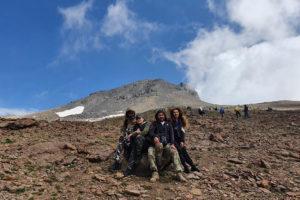 Վերելք Արագած Լեռ (հյուսիսային գագաթ)