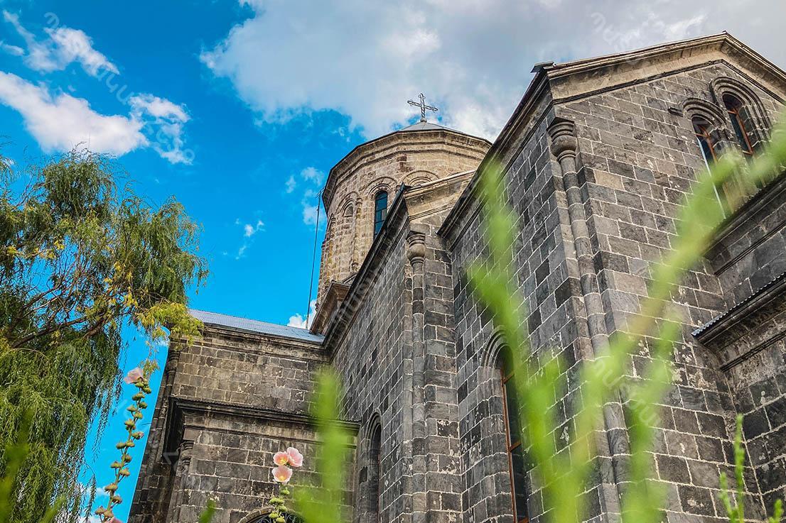 Holy Mother of God Church in the city of Gavar, Gegharkunik region of the Republic of Armenia