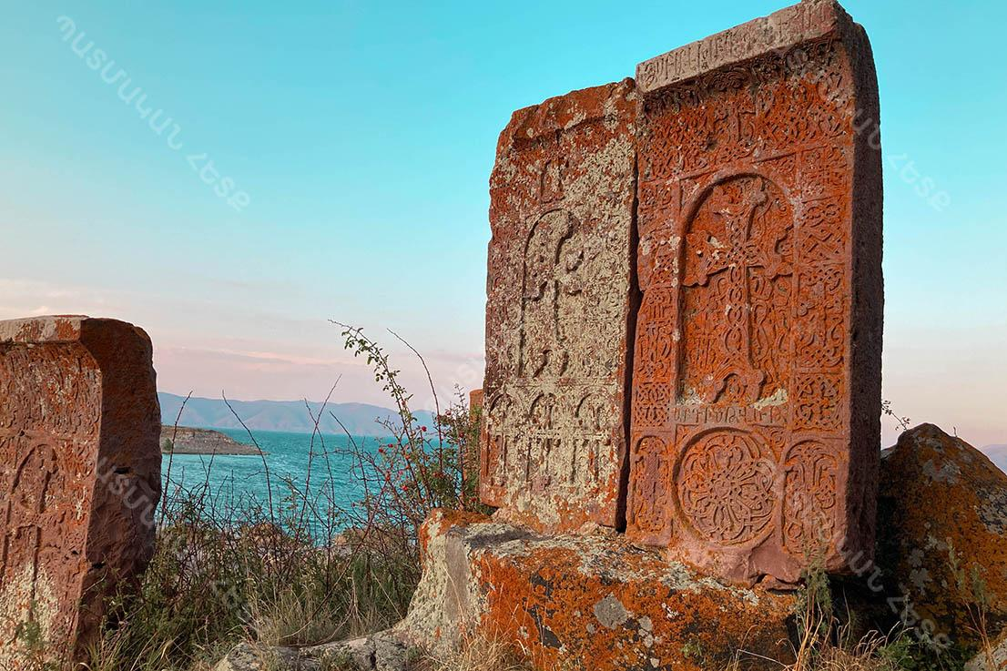 Monastic complex Hayravank in Armenia