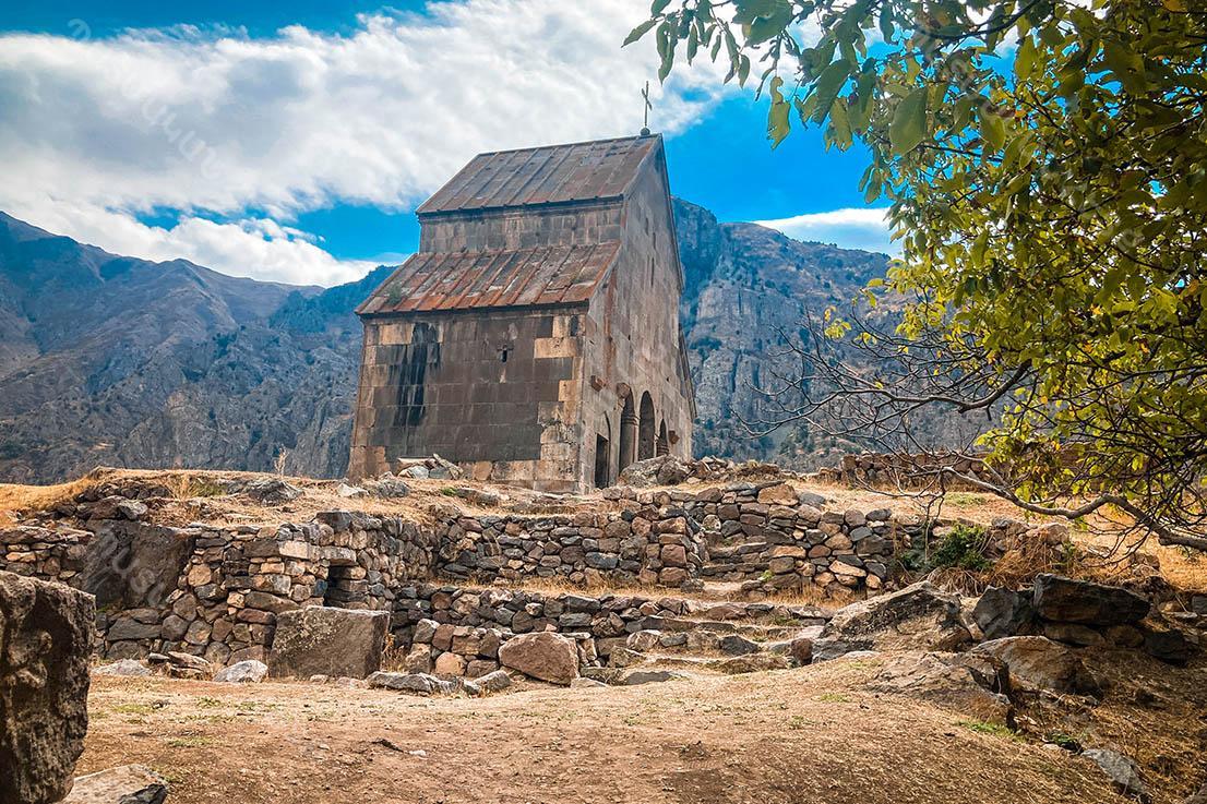 Zorats Church in Vayots Dzor region, 14th century